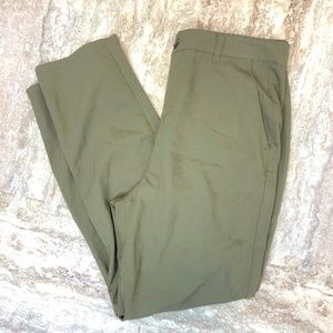 Forever 21 Contemporary Olive Green Pant Large